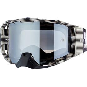 Leatt Velocity 6.5 Iriz Goggles with Anti-Fog Mirror Lens african tiger silver